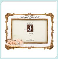 Godchild baby baptism christian photo picture frame
