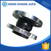 Soft connection single shpere galvanized flange rubber expansion joint/flexible rubber joint