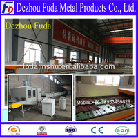 corrugated roof sheet making machine/ hot products roofing sheet working line/roofing sheet bending machine