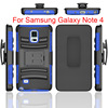super combo case for samsung galaxy note 4 robot combos Sliding sleeve robot cover for samsung note 4 Belt clip
