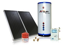flat panel separated complete solar water heater system