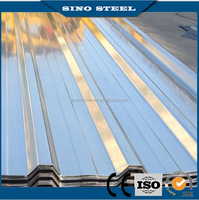 Trapezoid galvalume metal roofing sheet for building