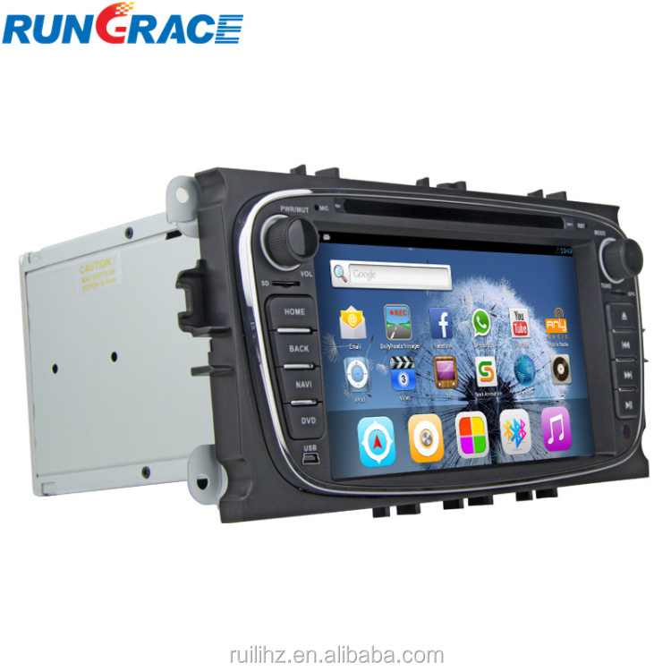 2 Din 7 Inch Andriod 4.2.2 Car DVD For Ford Mondeo with GPS Navigation DVB-T ISDB-T CAN BUS MP3 bluetooth