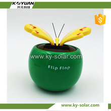 Hot sale solar powered desk toy flower dance toy in car