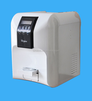 Europe Style Refrigerator Hot and Cold Bottleless Small Water Dispenser