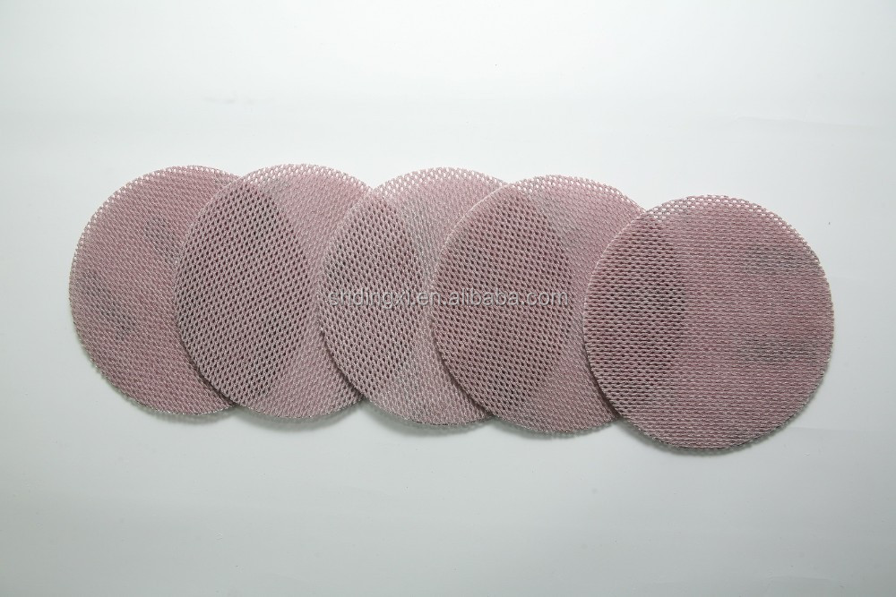 High quality mesh Abarasive paper round/square