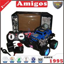 hot toy 1 18 4 channel rc buggy truck with sound music dancing charger and battery plastic off road car