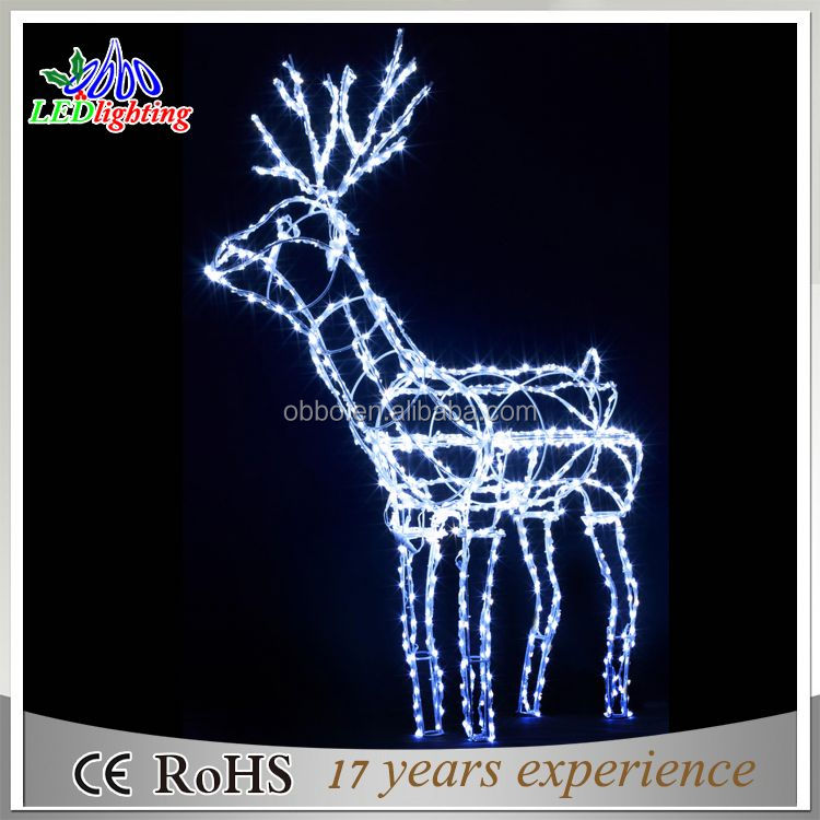 Expensive large outdoor christmas reindeer light