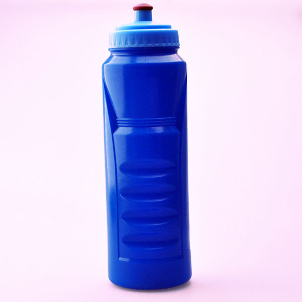 1liter Portable Blue liquor measurement squeeze sport cheap printed water bottles