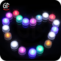 2016 Superb Decoration Promotion Watertight Led Light Mini Water For Party