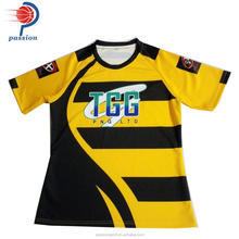 New Design Sublimation Custom Rugby Jersey For Mens