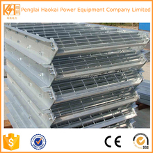 OEM customized high quality galvanized plain steel bar grating