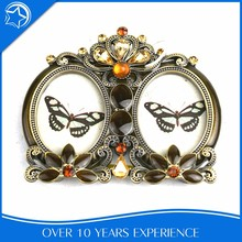 Customize Oval Antique Double Couple Photo Frame