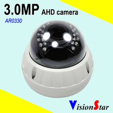 VisionStar cctv vandalproof ahd camera dome 1080p full hd security analog motion sensor video surveillance