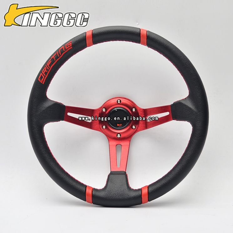 new products 2016 deep dish pvc oem replacement steering wheel