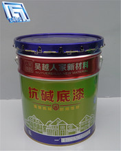 18L tinplate material drum/bucket/can,paint packing