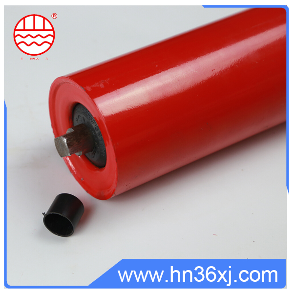 Heavy Duty Friction Conveyor Roller / Steel Roller / Carrying Roller