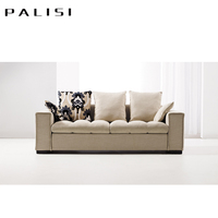 New Lazy Sofa Set Linen Fabric