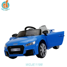 WDJE1198 Licensed Audi Ride On Car 12v 2 Seat Remote Control Mini Gas Car For Adult