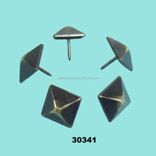Upholstery square pyramid sofa nails,fasteners studs for furniture