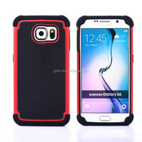Premium quality unbreakable football phone case for Samsung Galaxy S6,For Galaxy S6 Edge mobile back housing
