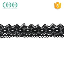 Factory supply fashion design high-end soft texture crocheted lace