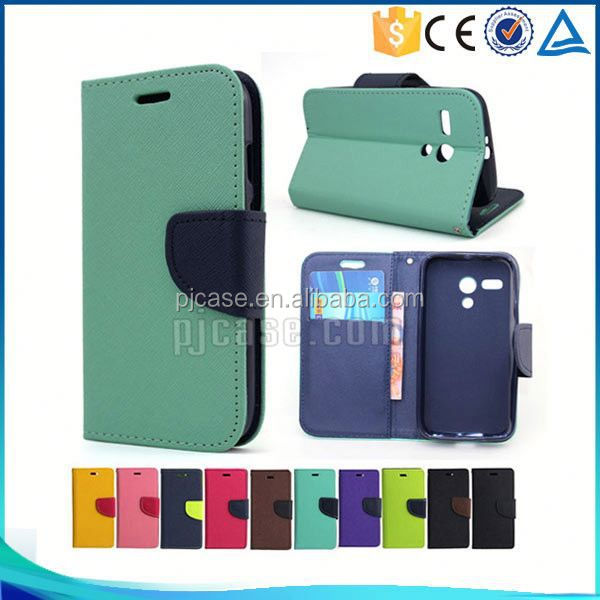Hot sale Mixed colors pu leather flip cover case for Allview V1 Viper S