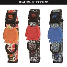 Hot Sale Personalized Heat Transfer Print designer dog collars with durable parts Small G