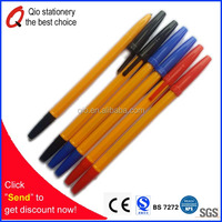 Factory direct sale cheap pen making kit,cheap stationery wholesale for school balpoint pen