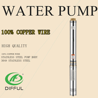 pumps for using deep water submersible for farm on the well ac electrical water pump motor