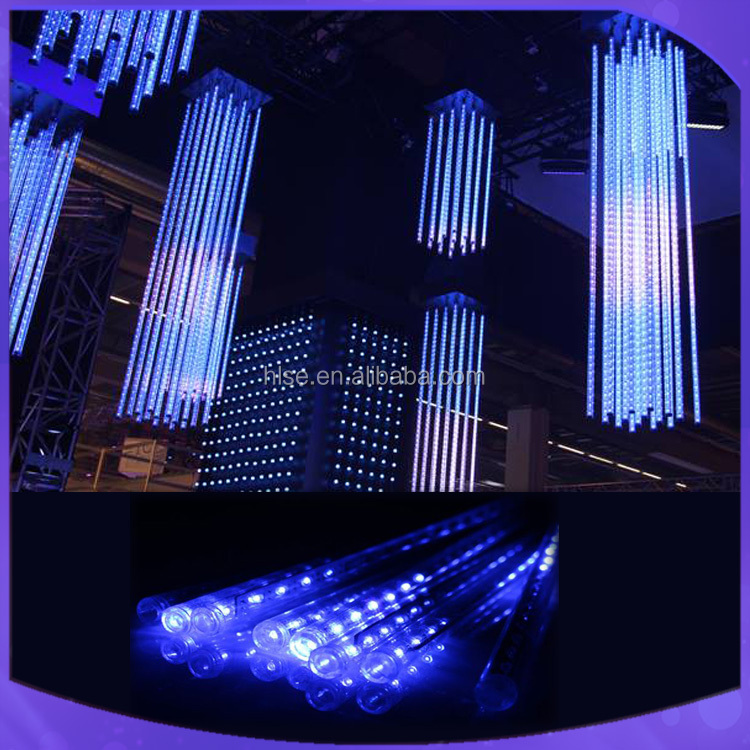 Led meteor lights dmx 3d tube for Christmas decoration