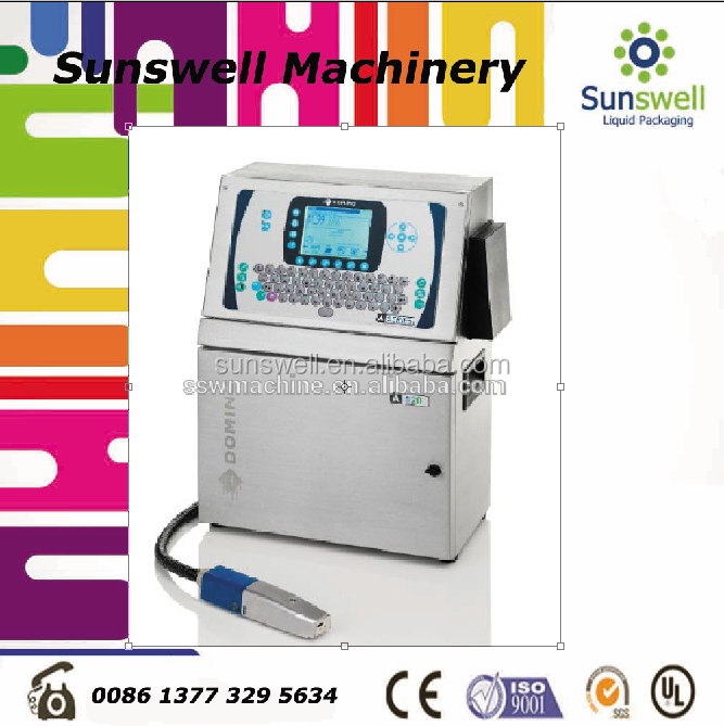 glass Character Inkjet Printer for date number logo