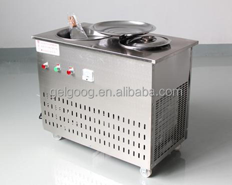 Ice Cream Frying Pan|Frying ice pan machine|Ice Yogurt making machine