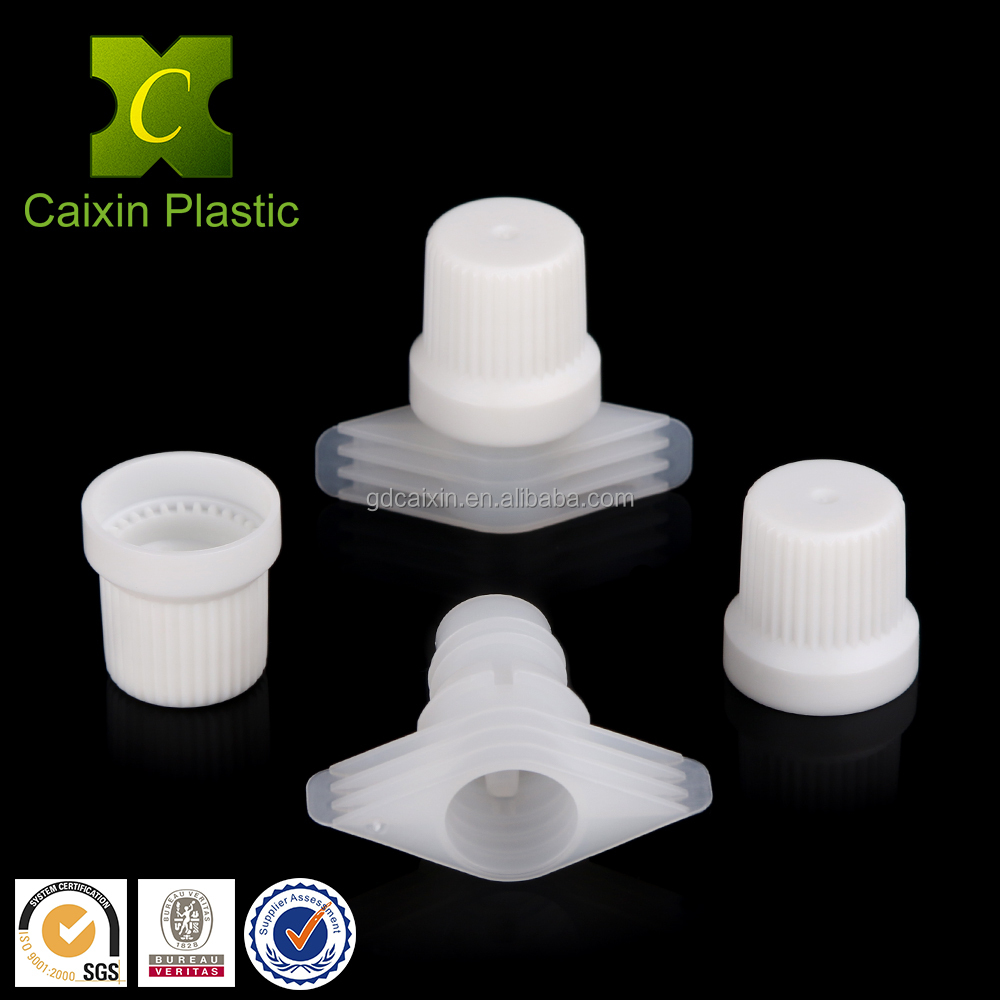 plastic spouts and caps for pouch factory