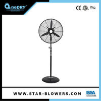 Water Fan Cooler Stand Fan With Metal Blade With Remote