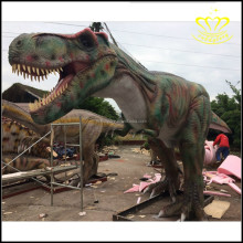 Outdoor Amusement Park decorate animated life size resin fiberglass dinosaur