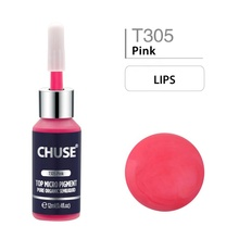 CHUSE Pink Permanent Makeup Tattoo Ink Set Use For Lip