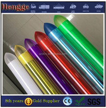 clear colored frosted diffusing polycarbonate tube for lightsaber
