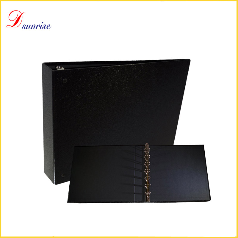 2016 Hot exquisite 7 ring binder folio spine for A4 paper