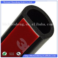 Adhesive shower door rubber seal strip for watertight door/door rubber seal strip