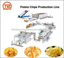 Potato Chips Production Line, potato chips making machine price, frozen french fries machine