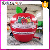Outdoor promotion model replica fruit giant inflatable apple with logo