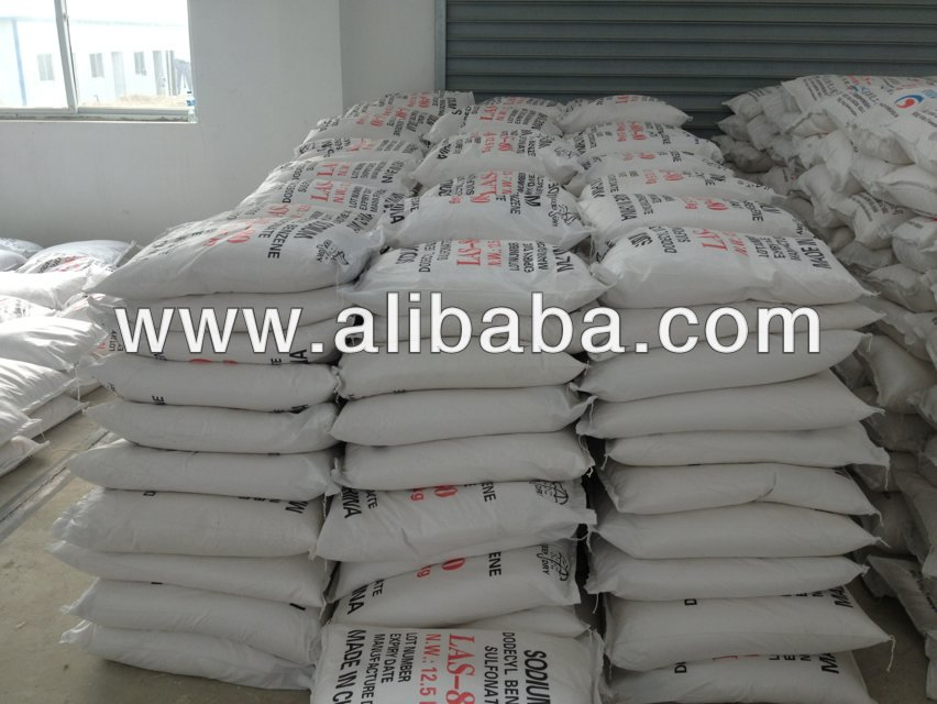 Sodium dodecyl benzene sulfonate LAS, SDBS for Production detergent powder