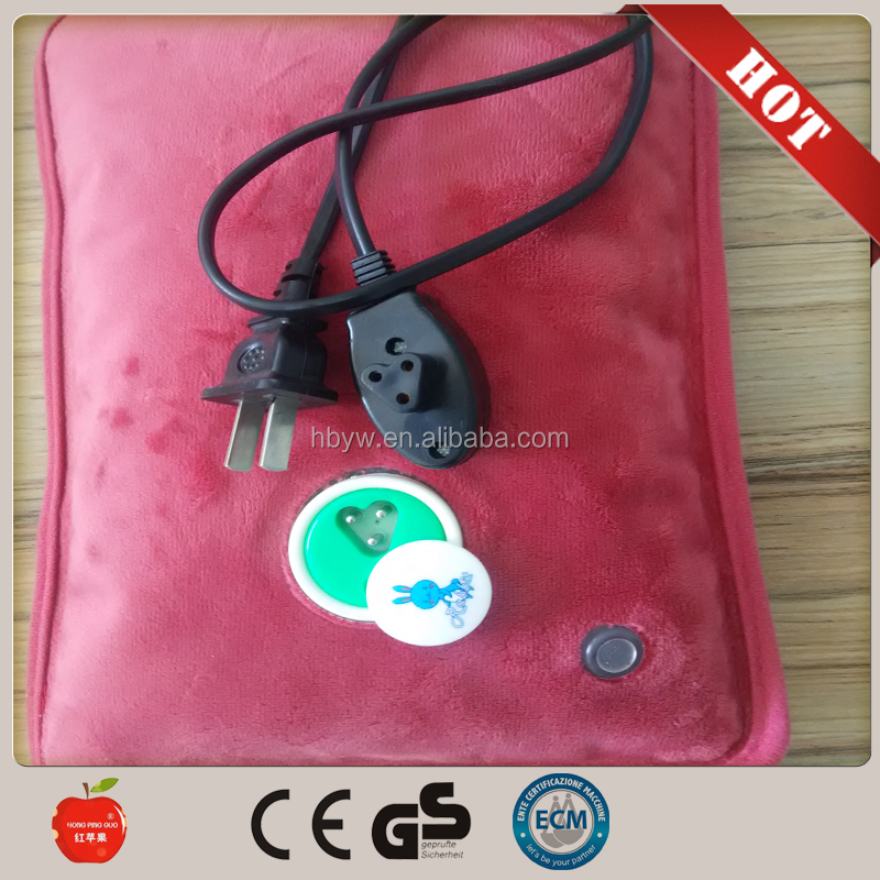 anti explosion electric hot water bag /electric hand warmer /electric hot water bottle