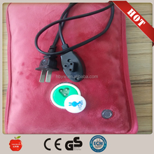 rechargeable electric hot water bag /hand warmer ,pillow or hexagon shape with cheap price/Electric hot water bag/hand warmer
