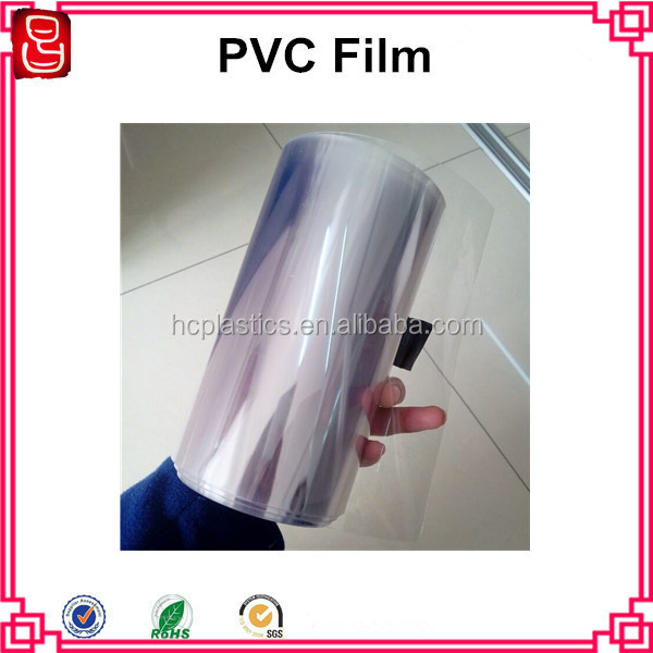 Food Grade Plastic Sheet PVC Plastic Roll