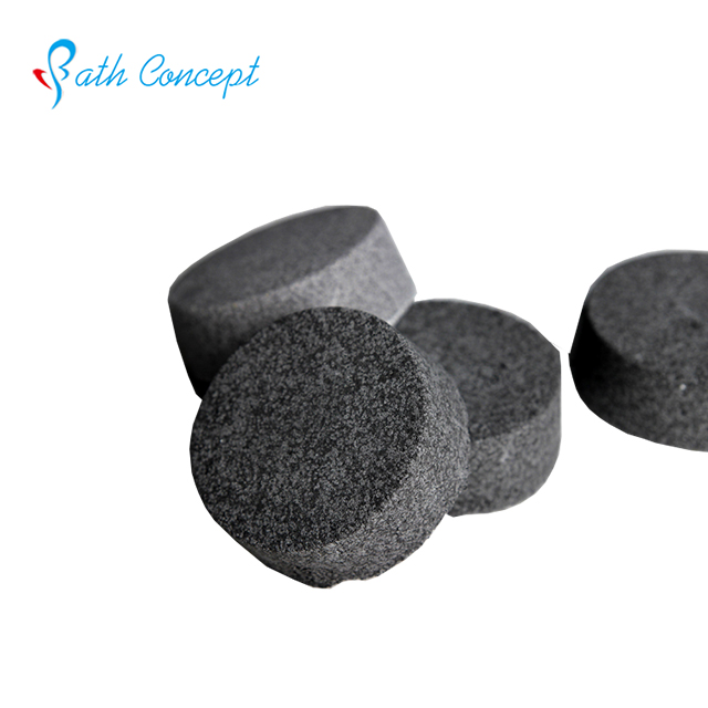 Private label Charcoal bath bombs wholesale