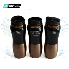 Custom Printed Double Wall 304 Metal 450ml Stainless Steel Thermal Insulated Coffee Mug
