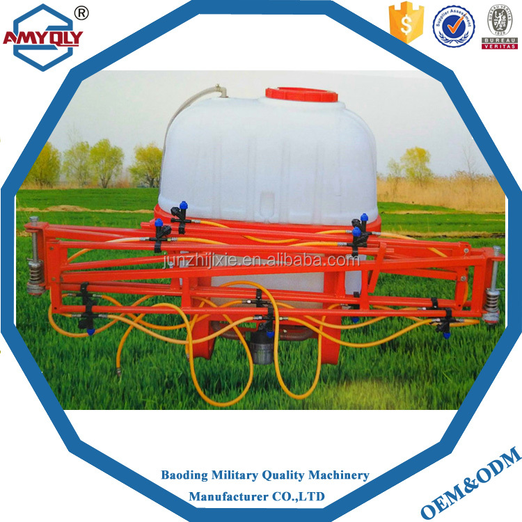 800L Tractor mounted Rod boom Sprayer /farm rod spray machine for sale
