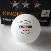 ITTF Approved 3star 40 Seamless Plastic